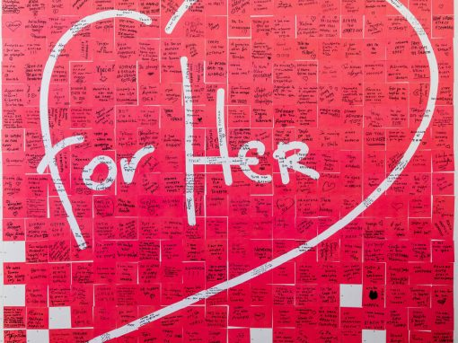 "Roche ""For Her"" Booth, 2015"