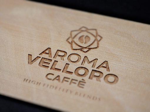 Aroma Velloro caffē; branding, cid & packaging, 2018